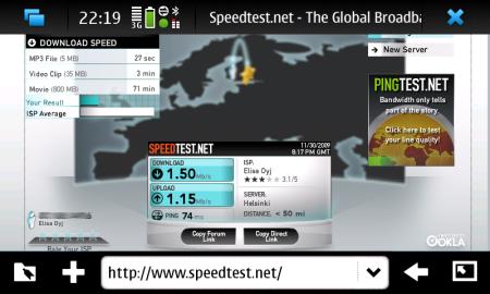 N900 screenshot